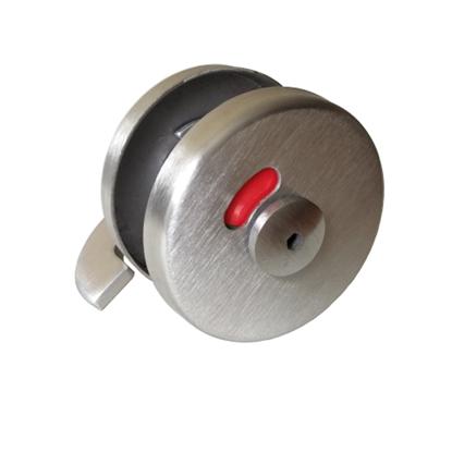 Nerūdijančio plieno suktukas indikatorius tualetų durims T-004 (iš išorės)