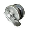 Nerūdijančio plieno suktukas indikatorius tualetų durims T-004 (iš vidaus)